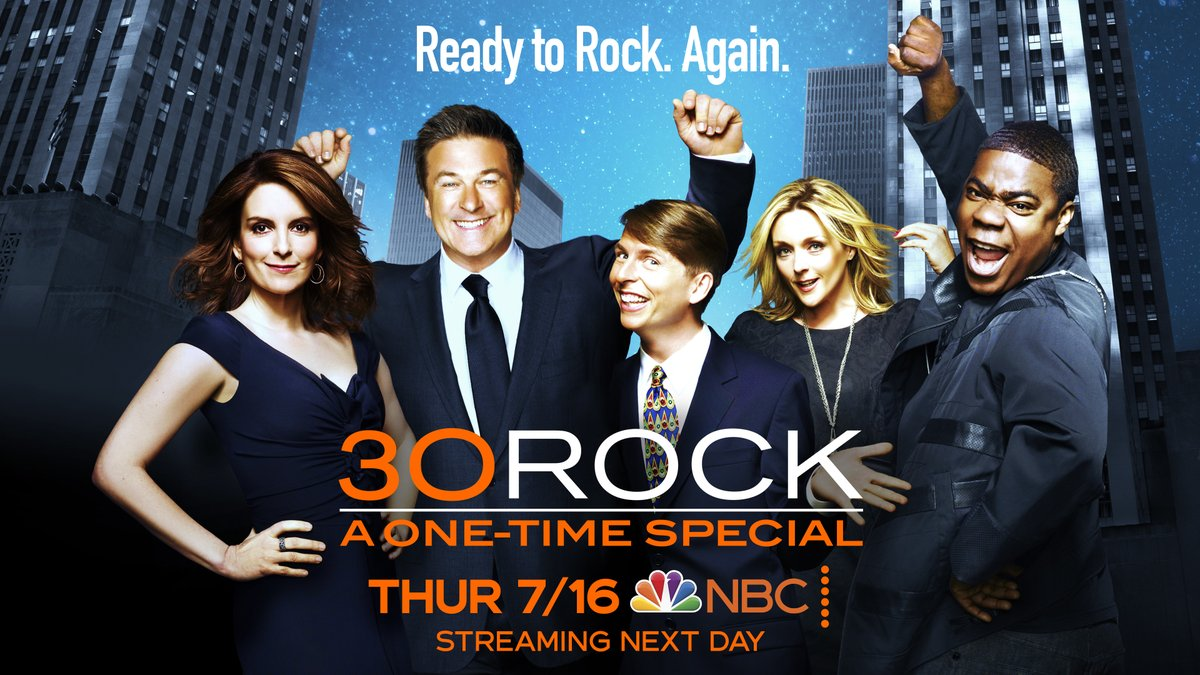 If you love television as much as Kenneth, mark your calendars! #OneMore30Rock is only a week away.