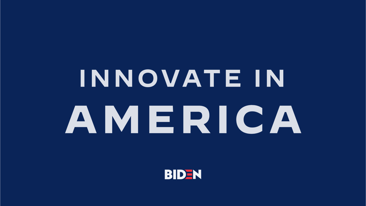 We can't just focus on the jobs of today — we have to also focus on the jobs and industries of tomorrow. I'll make a historic $300 billion investment in research and development that will spur innovation and help create 3 million jobs across the nation.