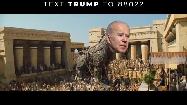 Joe Biden is Bernie Sanders, Alexandria Ocasio-Cortez, and Ilhan Omar's Trojan Horse for their radical Socialist agenda.  Don't be fooled!
