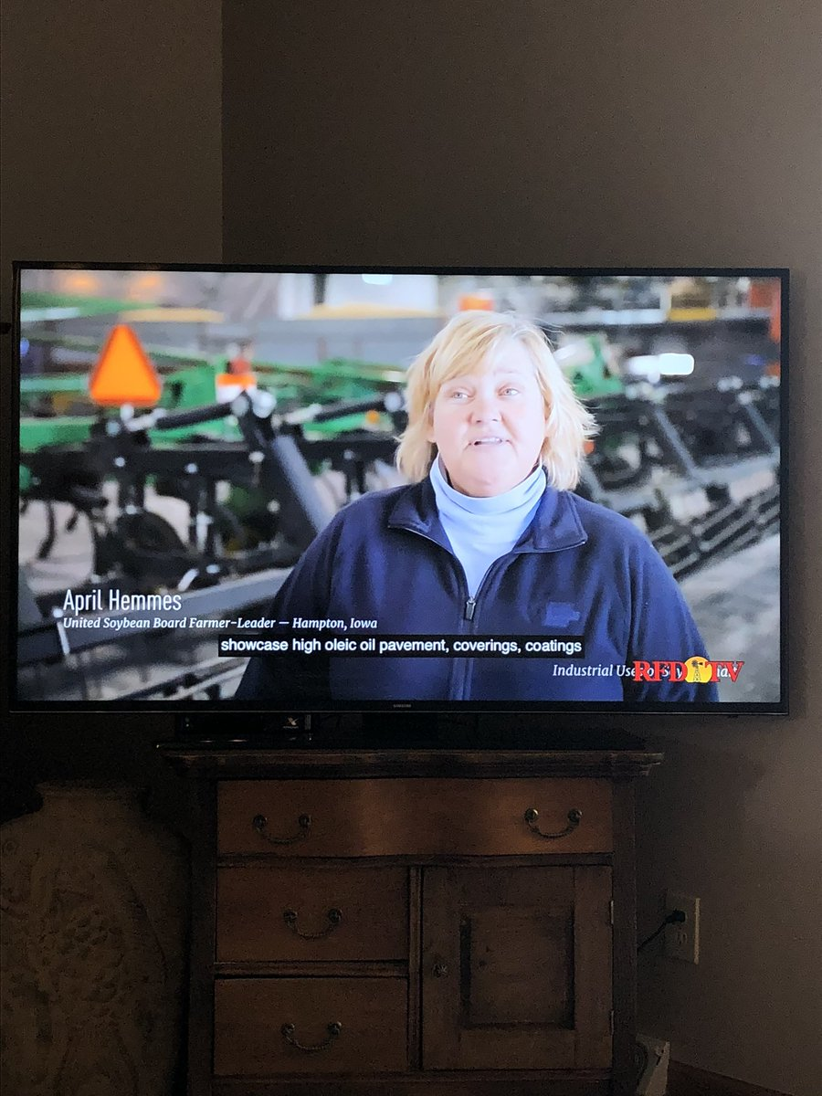 Way to go @aprilhemmes! Thanks for you #soybean advocacy! @UnitedSoy @ASA_Soybeans