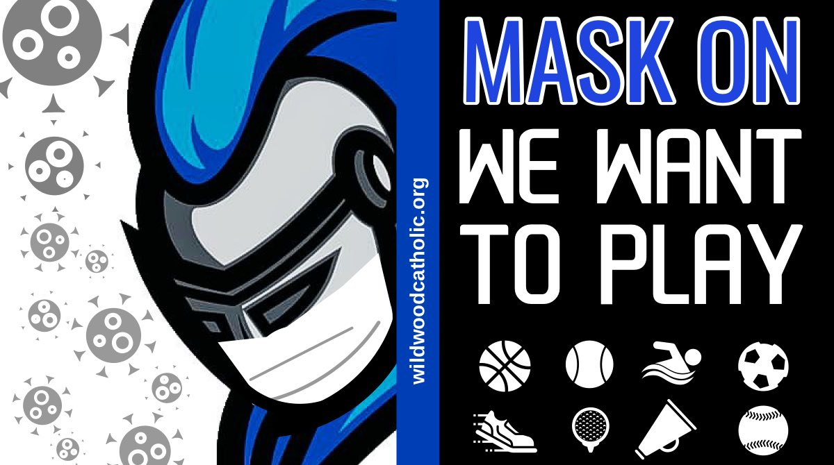 Mask on...we want to play!  We are challenging @rollcrusaders @TCA_GIRLSBBALL @gbb_vi @HSHS_Athletics @IrishGBB @LadyBurrs to keep everyone safe. Mask on; so we can have our season 🚾💙🏀 #MaskUpNJ #maskchallenge #MaskOn