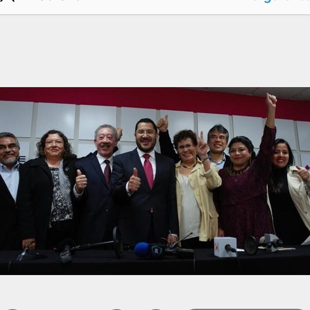Un 9 de julio, pero de 2014, #Morena obtuvo su registro como partido político. Me tocó presidir a su primer Comité Ejecutivo Nacional, mismo que tuvo a su cargo todas las tareas relacionadas con la obtención del registro.