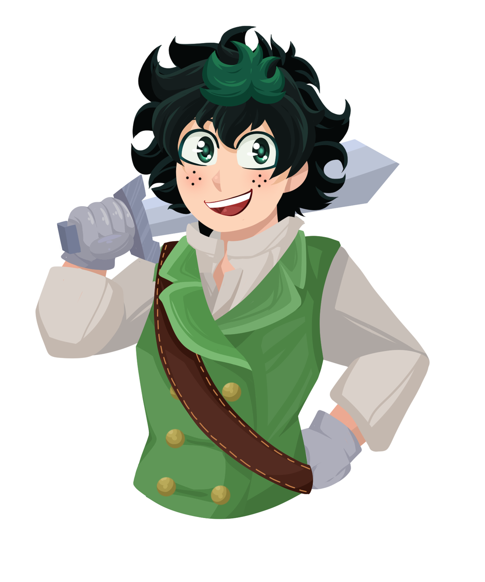Making a different thread to show off examples of some #BNHA icons/future stickers of the #bnhafantasyau  if you like them or want one of your own made just for you, check out my Ko-fi: