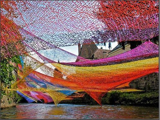 Installation artist Edith Meusnier, Spell, 2010 #womensart
