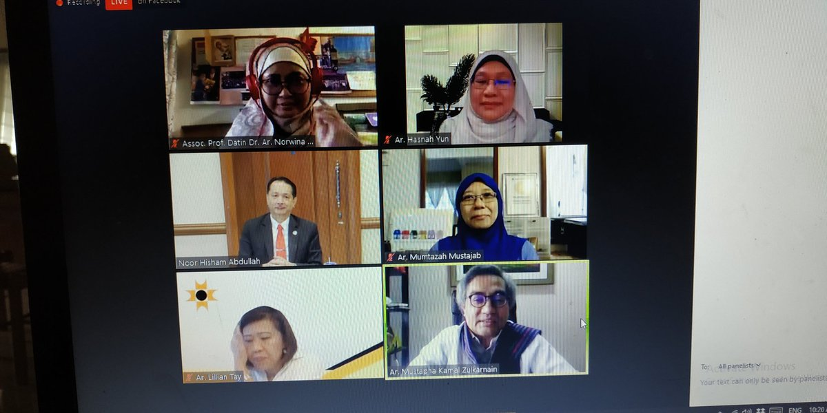 Mindblown to have witnessed @DGHisham sitting down with panels of architect, discussing on Designing Quarantine Centres Towards A Better Built Environment. His fluency and mandate on fighting Covid-19 is very very admirable. Thank you Dato!