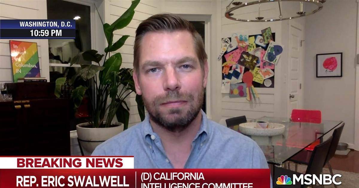 Former Manhattan U.S. Attorney Geoffrey Berman outlined how he was pressured to resign by Attorney General William Barr in a closed House Judiciary Committee hearing. @RepSwalwell who was in the hearing, joins @Lawrence to react.