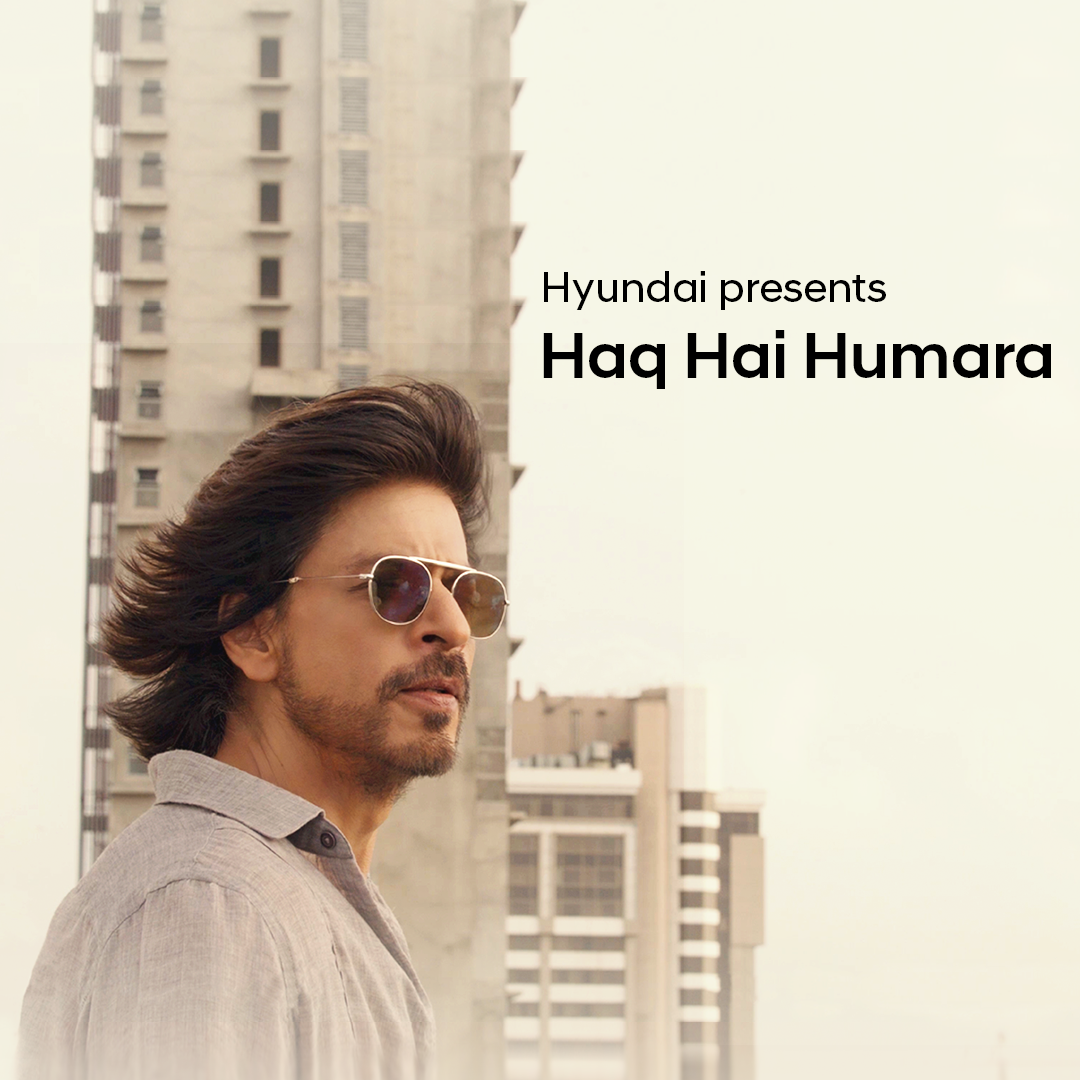 Indians live with a victorious spirit. #HaqHaiHumara, our new Corporate Brand Anthem, brought to life by the inimitable @iamsrk composed by @VishalMMishra & lyrics by @manojmuntashir. It's the rhythm of resilience of a billion hearts & a salute to the fearless frontline warriors.