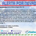 RT @DcChubut: #Nevadas persistentes (Alerta Meteorológico Nro 13) https://t.co/7b3QRXx2mA