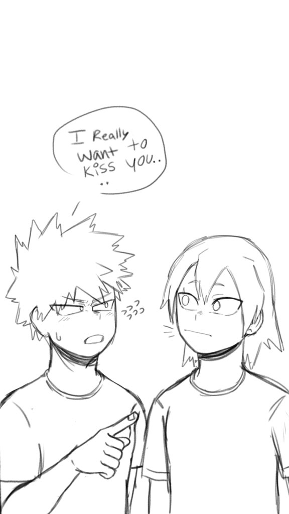 Rest on thread👇🏾👇🏾 Bakugou trying to confess or just speaking out loud?? I don't know but here you go did my smoke get better compared to last time ? #kirishimaeijirou #kiribaku #bakugoukatsuki #mha