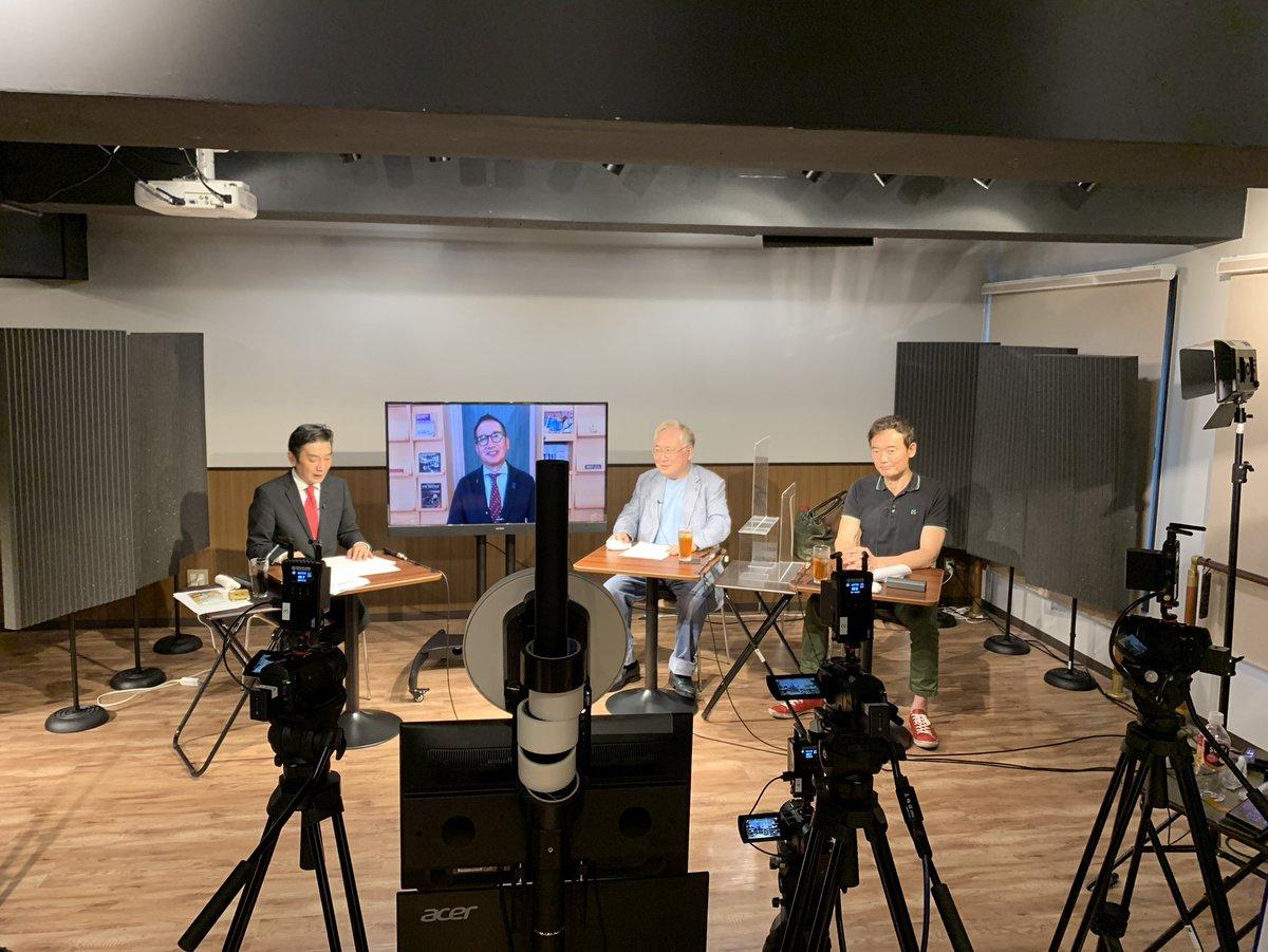 test ツイッターメディア - 文化人放送局、百田尚樹先生と有本香先生と手打ちしたって。 よかったです。なう。 https://t.co/9WQD5xQdpR