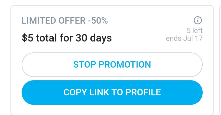 50% off promo on my onlyfans rn! Offer ends in 7 days so get it while you can😘 💜 💜#horny #sexting #masturbating #slut #topless #cumslut #wetpussy #videos #buyingvideos #sellingvideos #onlyfanslink #daddy #onlyfans