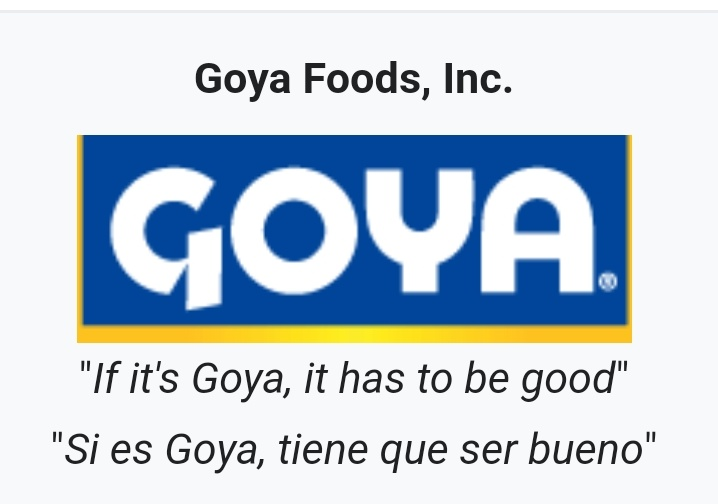 I'm gonna go out and #BuyGoyaFoods and keep supporting them!    Anything the democrats hate, I know I'm right for loving it!