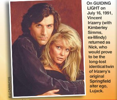 #GL past July story with Nick and Mindy revisited in this week's SOAP OPERA DIGEST @VincentIrizarry #KimberleySimms