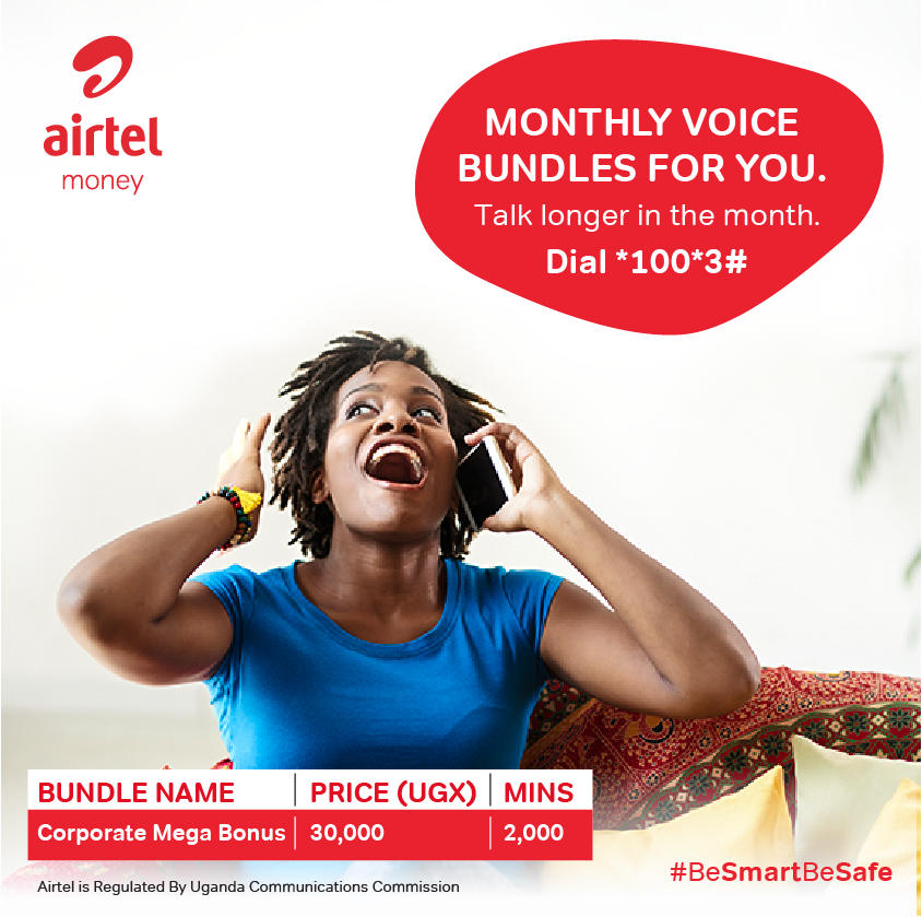 Keep your connections going strong this July with the Corporate Mega bonus voice bundle.  Dial *100*3# to get started #BeSmartBeSafe