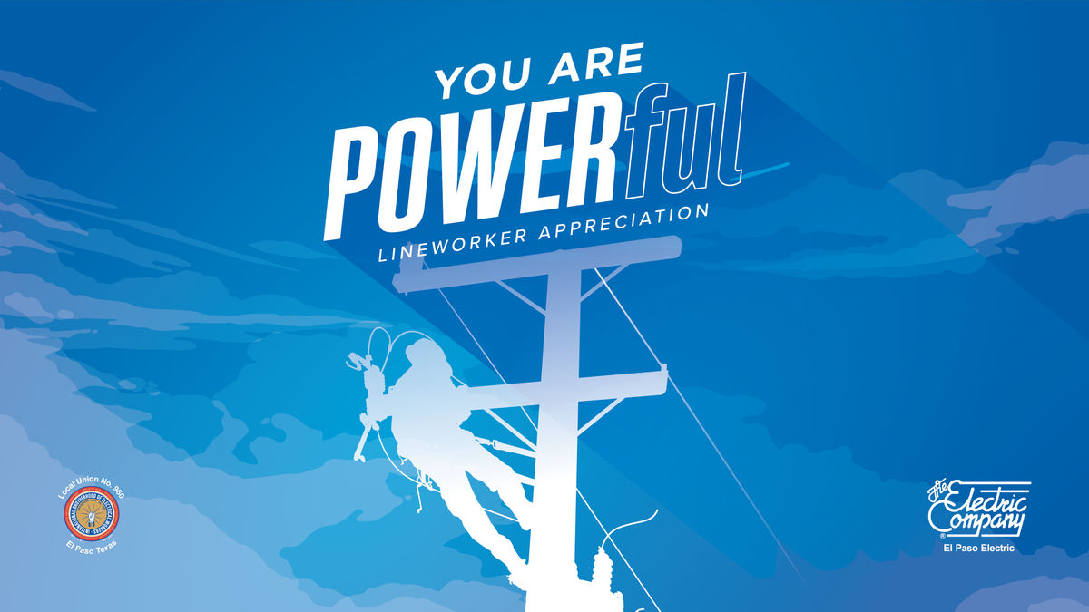 Strength. Grit. Bravery. Just a few words to describe an #EPElectric @IBEW Lineworker. Your passion is beyond measure and your courage makes you POWER-ful. Happy Lineworker Appreciation Day! #ThankALineman #ThankALineworker
