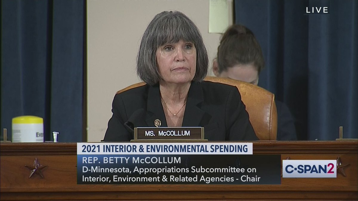 House Appropriations Committee hearing on 2021 Interior and Environmental spending – LIVE on C-SPAN2