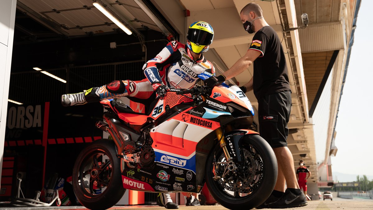 "test Twitter Media - Motivated @TatiMercado36 ""feels ready"" for first race of 2020!  #WorldSBKreturns   📹 INTERVIEW 