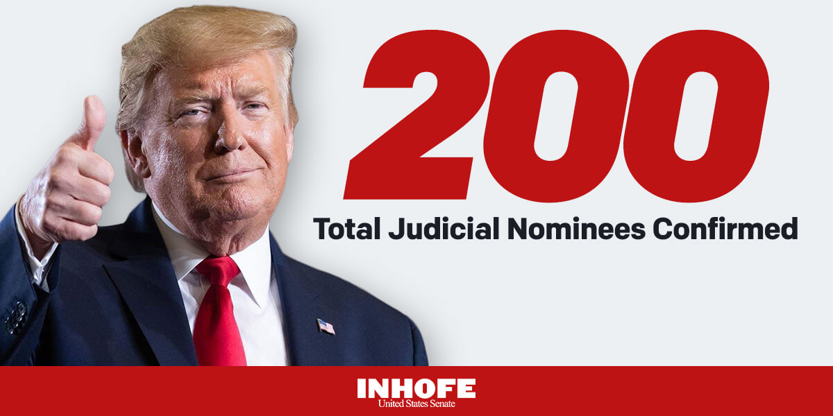Standing together with President Trump we have remade the judiciary for decades to come.