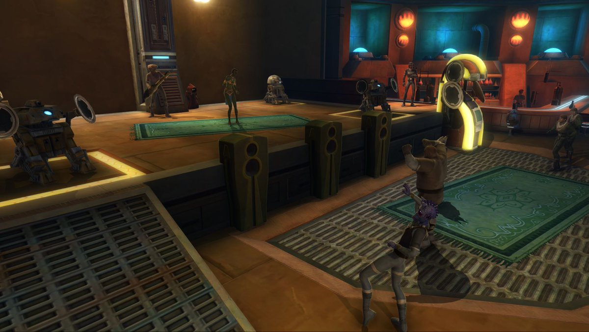 test Twitter Media - A few days ago, we asked you which Cantina is your favorite. You choose the following Cantinas as your 3 favorites: Nar Shaddaa, Tatooine, and Rishi. https://t.co/Kdc9LojOzA