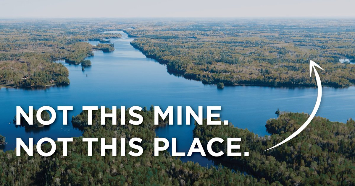 Thank you @BettyMcCollum04 for standing with 70% of Minnesotans who want to see the Boundary Waters protected. You are a real leader and we are so thankful for your dedication and commitment!