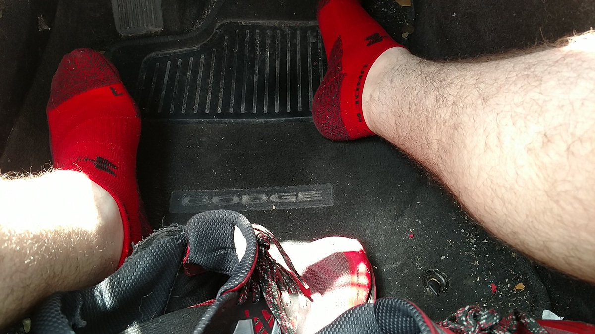 Right before work, you know they're gonna smell amazing after ;)  #sockfetish #gaysocks #malesocks #sockworship #malefeet #footfetish #mensfeet #gay #beardedgay #gaypup