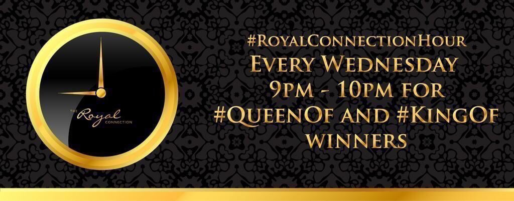There's more to being a #QueenOf and #KingOf winner than just a badge. You can network with and support your fellow winners at #RoyalConnectionHour hosted by @ADG_IQ every Wednesday 9-10pm 😊 #Male #Entrepreneur #FemaleEntrepreneur #SmallBusiness
