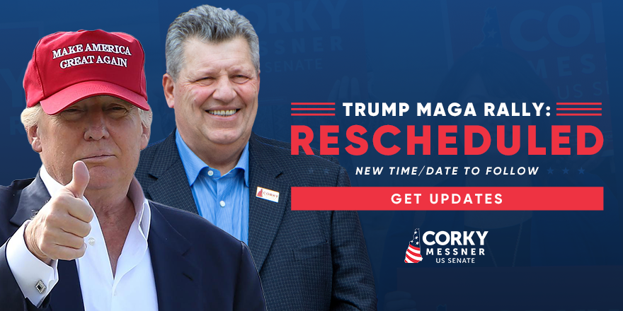 Unfortunately, the #MAGA2020 Rally with @realDonaldTrump Saturday night has been postponed. A new time/date will be announced in the coming days.  SIGN UP on my website for updates and I'll ensure you're one of the first to know!    #nhpolitics #NHSen