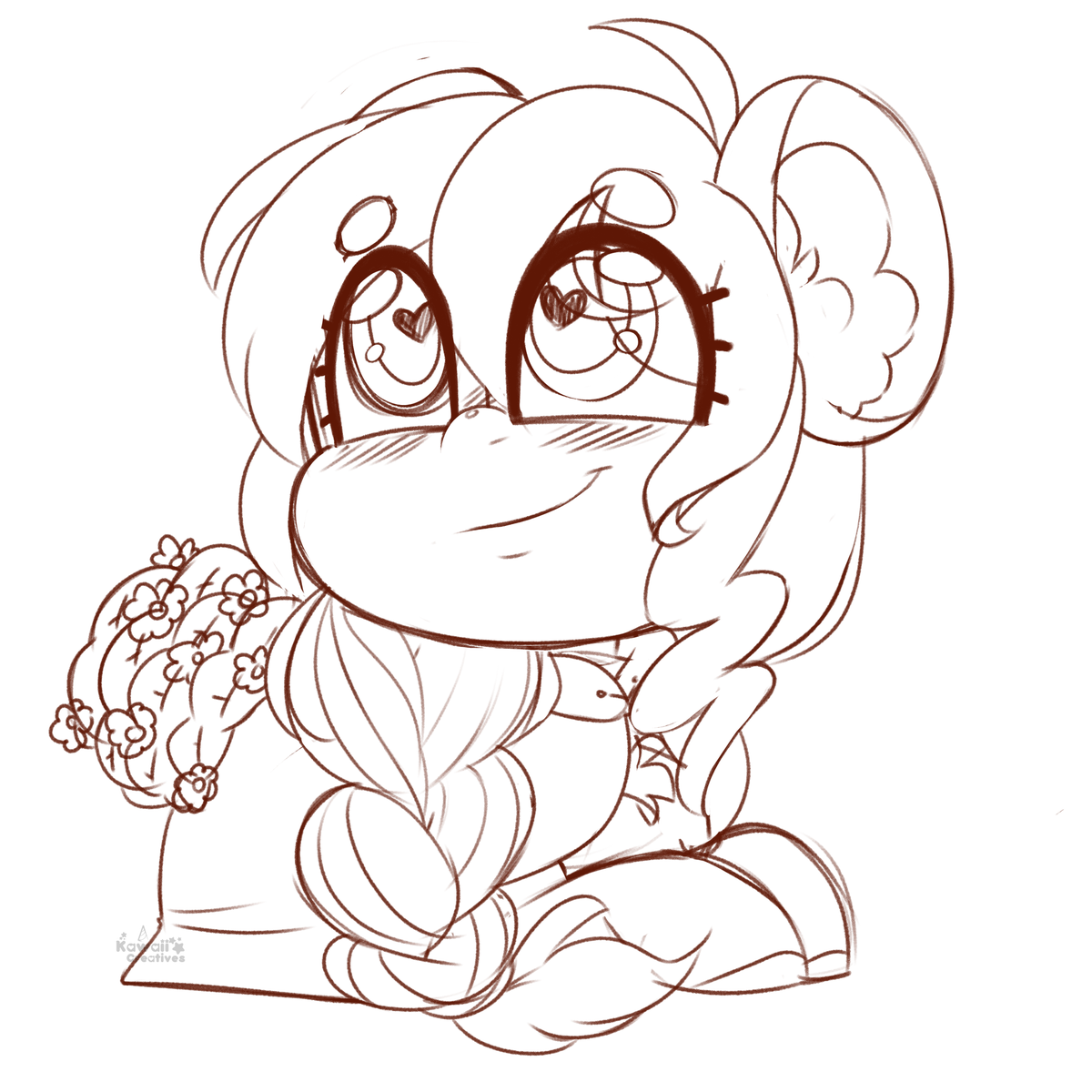 Today was fun! Sorry for the low energy today, still kinda recovering from last night <3 Thank you all for coming and watching me doodle. We raided our teammate @CheriiMeme , so go show them some love!  #SugarCrush 🍬 #sketch #doodle #twitch #streamer