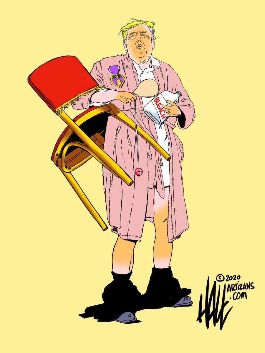 My weekend syndicate cartoon. #jerk #victim #trump #WhiteHouse @MaggieJordanACN @AprilDRyan @laloalcaraz @co_rapunzel4