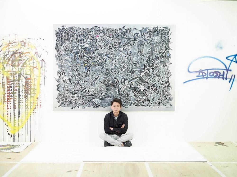 嵐・大野智の個展「FREESTYLE 2020」六本木で約5年ぶり開催、過去作品から初披露の新作まで -