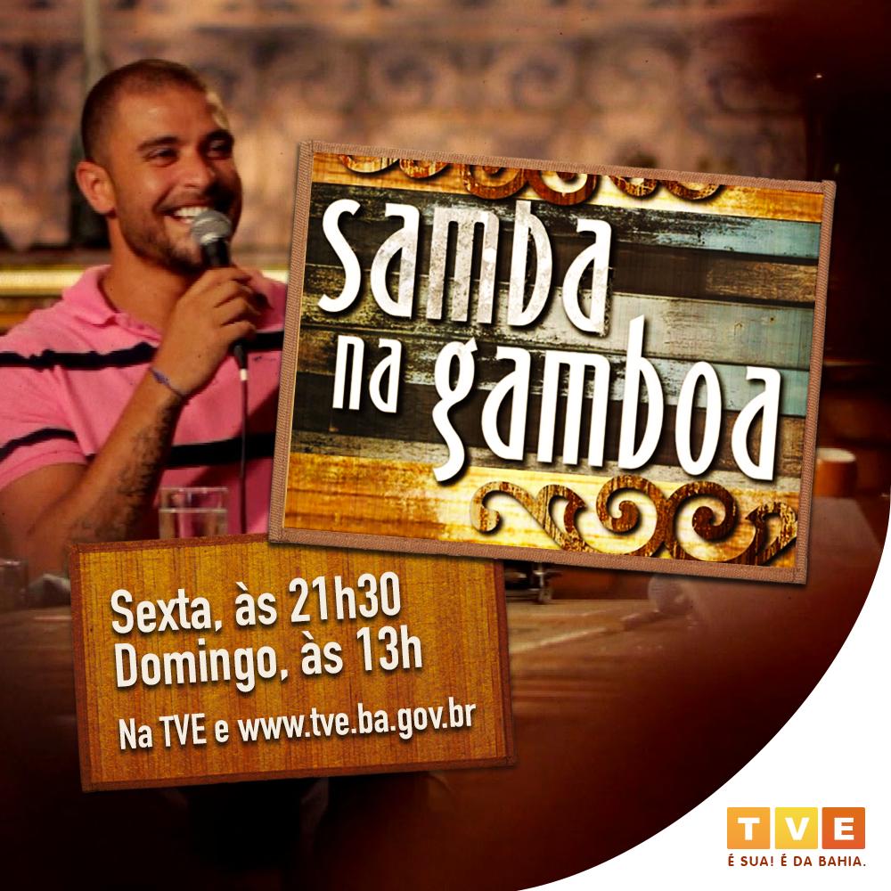 HOJE! No Samba na Gamboa, Diogo Nogueira canta e conversa com grandes intérpretes das nova e velha gerações de sambistas brasileiros e ícones da MPB.  Assista na #TVEBahia toda sexta-feira, às 21h30, e domingo, às 13h, na TV e   #SambaNaGamboa #Música