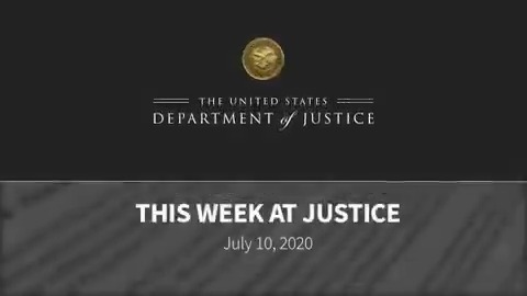 "#ThisWeekAtJustice AG Barr announced Operation Legend, held roundtables with @SenatorTimScott on issues in policing; DAG Rosen spoke to Fraternal Order of Police in Philadelphia; @FBI Dir Wray discussed Chinese espionage threat; Prolific hacker ""fxmsp"" charged with computer fraud"