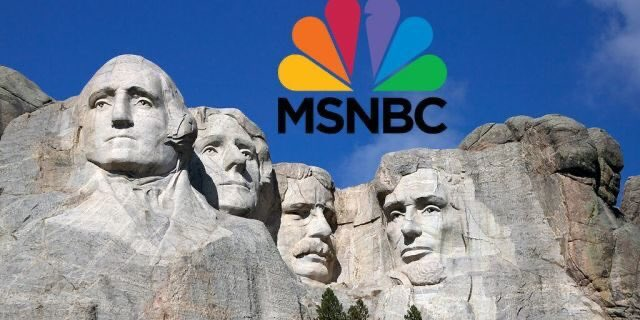"""(Mount Rushmore) is a monument to American patriotism and exceptionalism."" --@MSNBC, 2012"