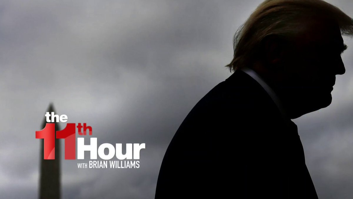 .@FrankFigliuzzi1: Roger Stone could send Trump to jail with what he knows.  Learn more:   #11thHour