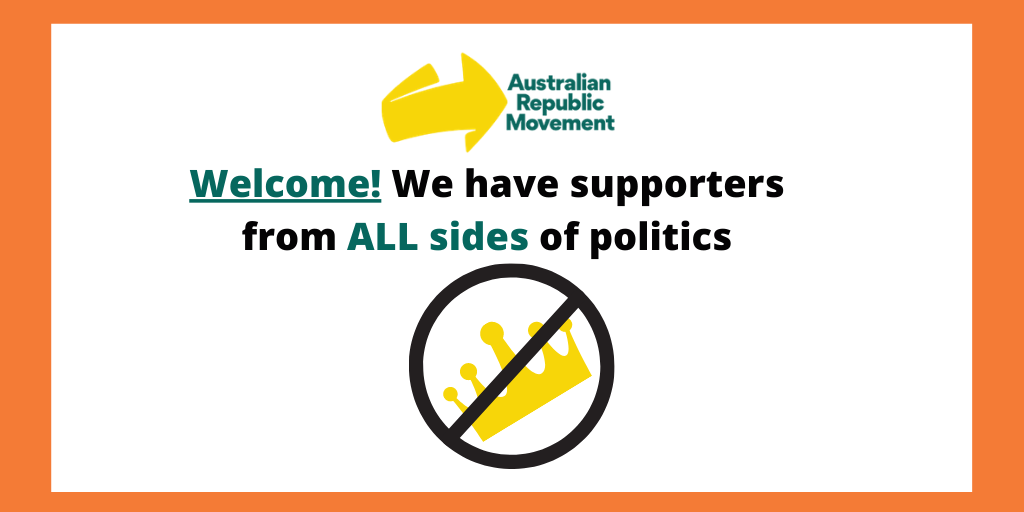 It doesn't matter who you support: as long as you're behind an Australian republic. Our members, staff and executive team are diverse in their views – but share a passion for making Australia a better place. Sign up to our email list:   #auspol #ausrepublic