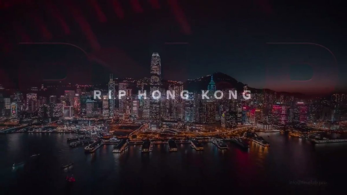 R.I.P. Hong Kong. Beijing's draconian new security law is putting the territory's democratic freedoms in jeopardy. TONIGHT on #60Mins, is this the death of one of the world's greatest cities?