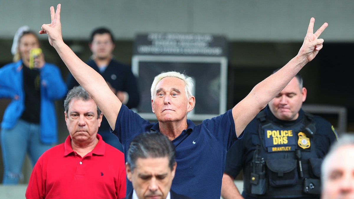 Trump Commutes Sentence Of Roger Stone