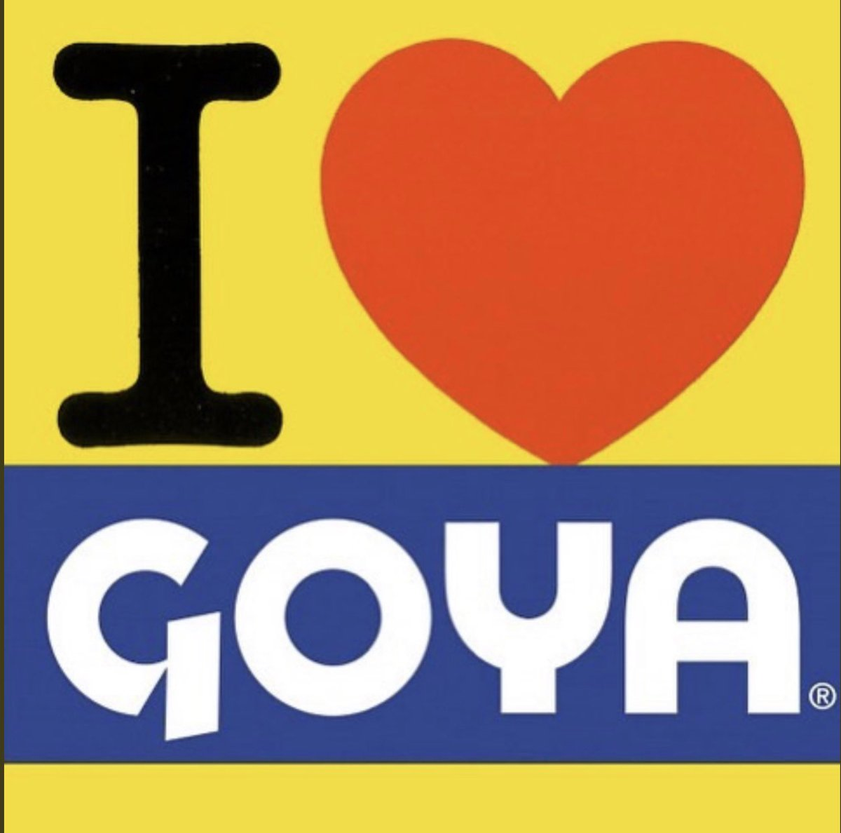 Most of these people fronting about a #GOYABOYCOTT either don't use @GoyaFoods anyways  And most of the ones who do will cave by #NocheBuena