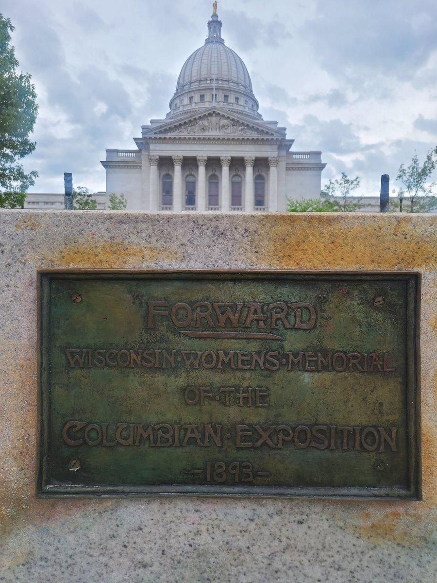 "127 years ago, sculptress Jean Pond Miner designed the statue ""Forward""   Funded by women, ""the statue was designed as an allegory for devotion and progress, the embodiment of her home state.""  Then a ""woke"" mob destroyed it."