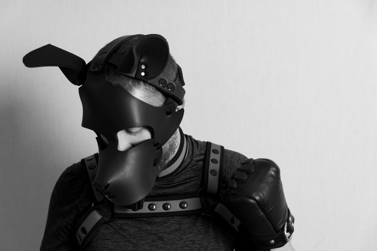 Life gets ruff but us pups are made of tuff stuffs. One day at a time, one paw in front of the other, we'll get through this. Awroooooooo!!! #pupplay #humanpup