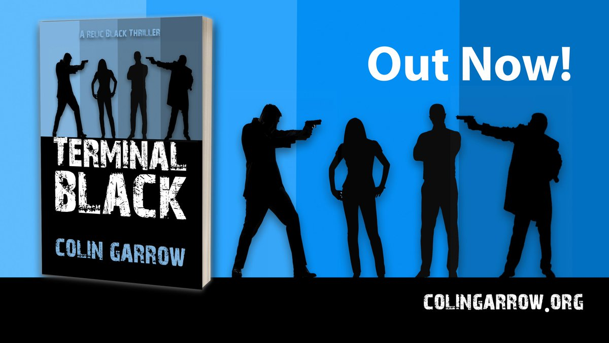 Out Now! 'Terminal Black' - a new thriller series set in Inverness.    #thriller #murder #relicblackthriller #IARTG