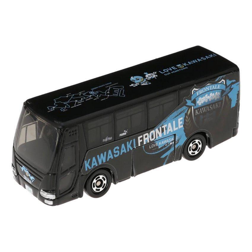 test ツイッターメディア - 「トミカ 川崎フロンターレオフィシャルチームバス」900円(税別)は本日にて一時販売終了とさせていただきます。なお、今後の再販売についてはオフィシャルHP、Twitterにてお知らせいたします。明日の店頭販売はございませんのでご注意くださいませ。【アズーロ・ネロ】#frontale https://t.co/8QdhhpnuUm