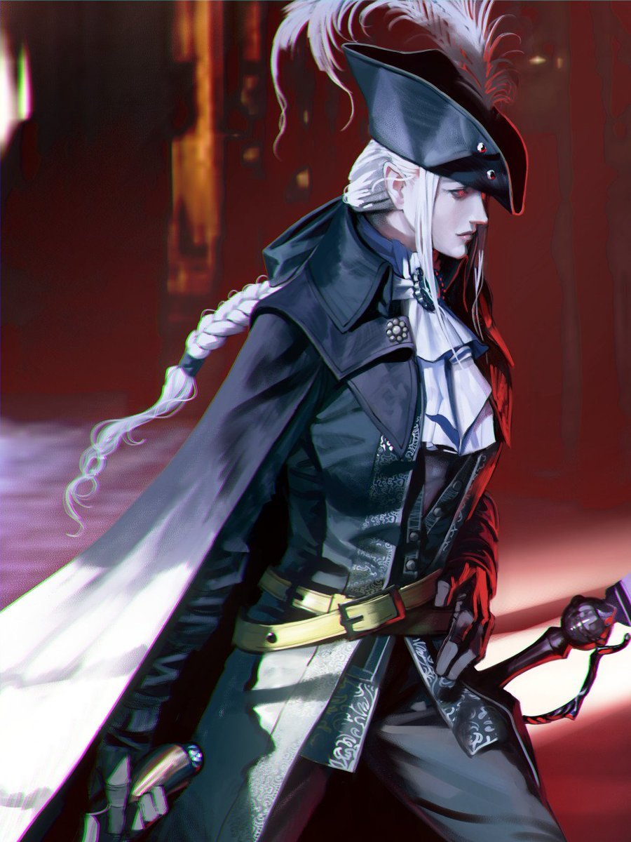 """The #FanArt of #Bloodborne 🩸🎨  """"Lady Mariaof the Astral Clocktower""""  Artist: @MORUGA"""