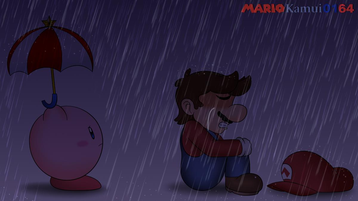 It's been 5 years since Satoru Iwata passed away.  I still won't forget the day I cried really hard.  #Mario #Kirby #SuperMarioBros #SatoruIwata #ThankYouIwata #Fanart #Tribute