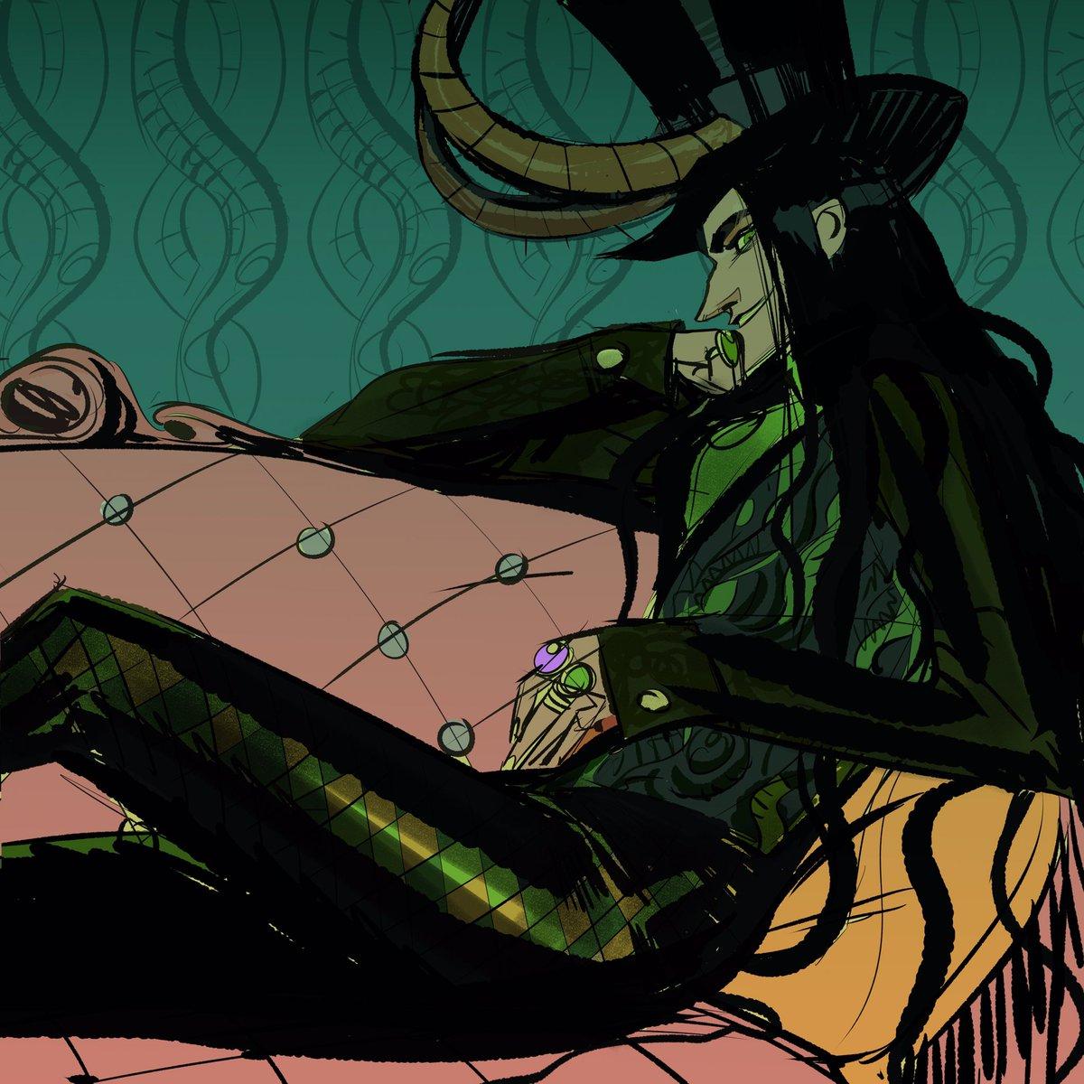 Victorian Loki. #loki #thor #marvelcomics #fanart #victorianfashion
