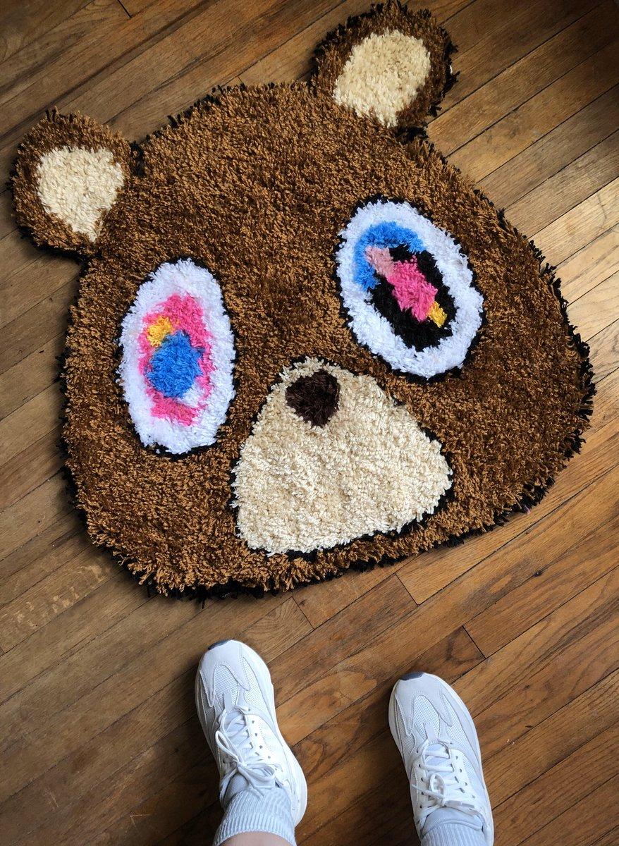 Handmade rug 😎 yeah I did the damn thing