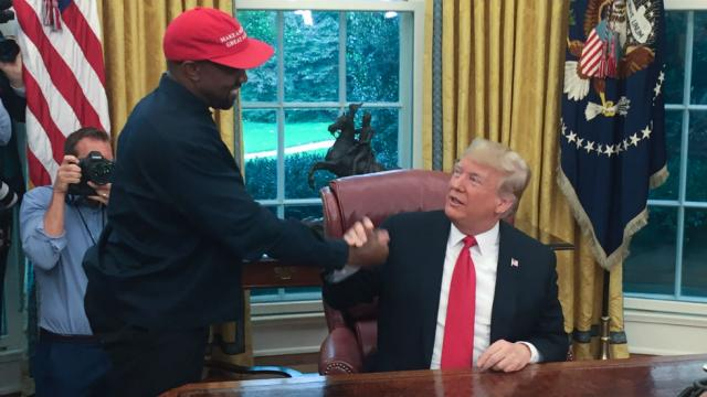 "Trump: ""Shouldn't be hard"" for Kanye West to take away votes from Biden"