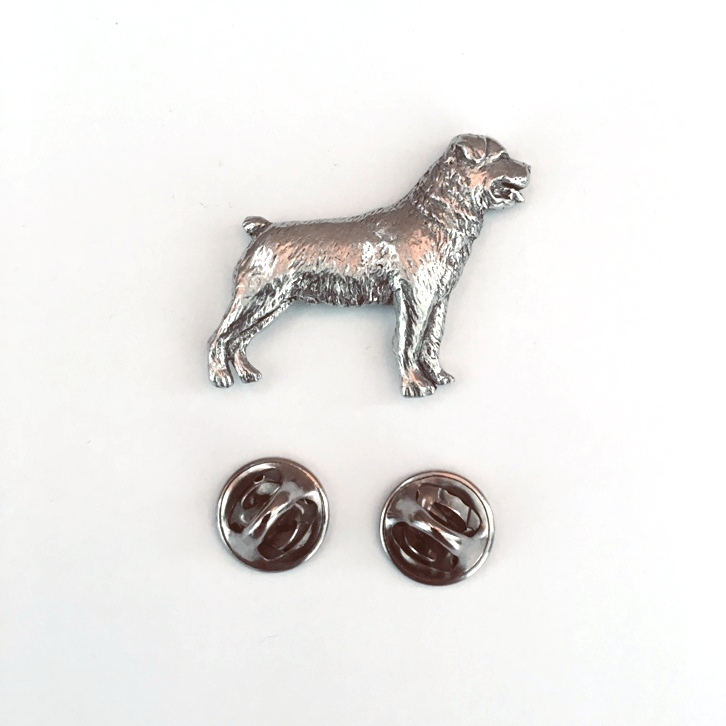Have a look at my eBay shop  for more dog, animal, cat, horse, fish, bird, sports & transport themed badge pins & keyrings in UK & USA pewter. #Rottweiler #BeardedCollie & many others