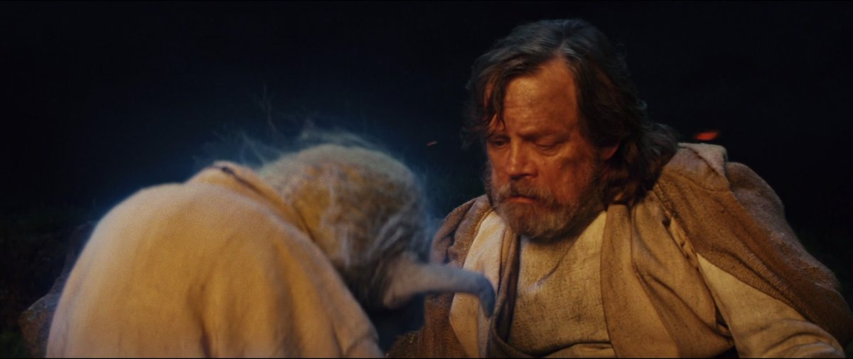 now that the last jedi is trending, as it should, let me remind you of one of my favorite underrated scenes
