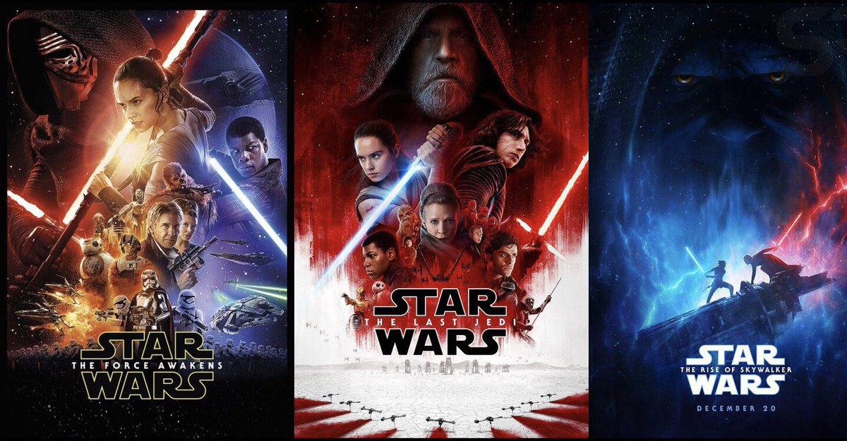 Say something nice about The Sequel Trilogy.